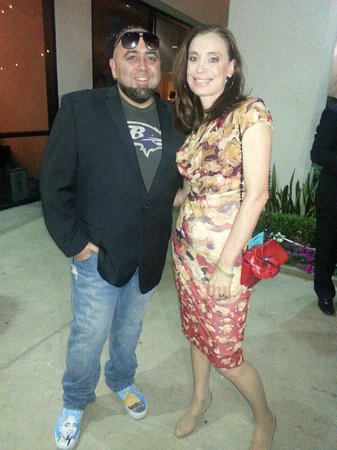 Chef Duff Goldman and Fernanda of Il Dolce Pizzeria