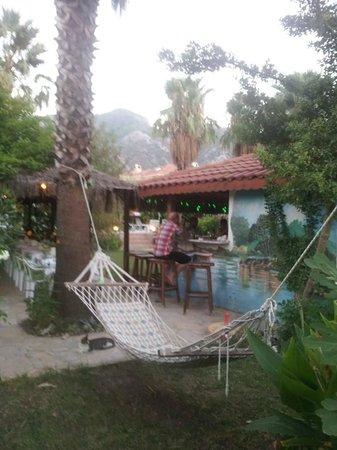 Dalyan Garden Pension: The bar!