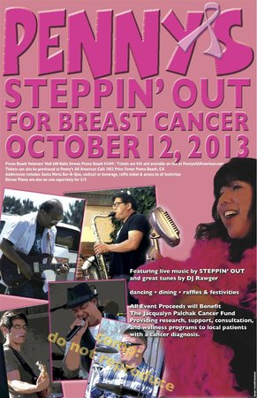 Penny's All American Cafe': Breast Cancer Fundraiser