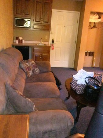 Hampshire Inn Conference Center: living room area