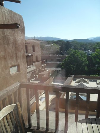 Inn and Spa at Loretto : View from Balcony