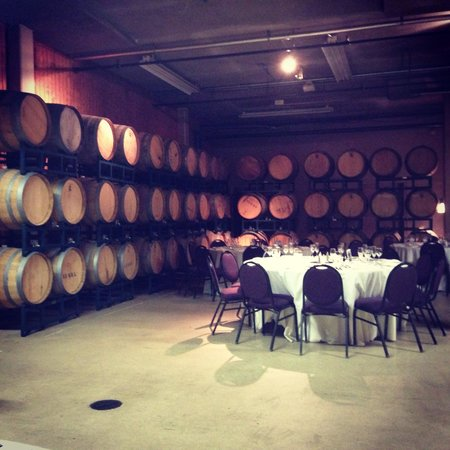 Chateau Elan Winery And Resort: Down in the basement