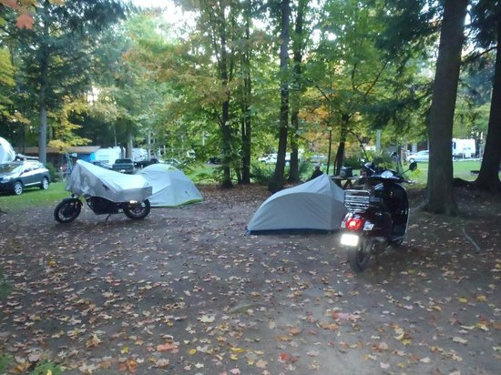 Opeongo Mountain Resort: Our Campsite