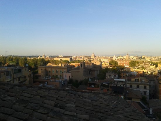 VOI Donna Camilla Savelli Hotel : View from roof terasse