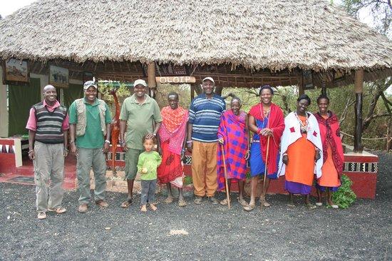 the heartwarming crew of Maasai Simba camp