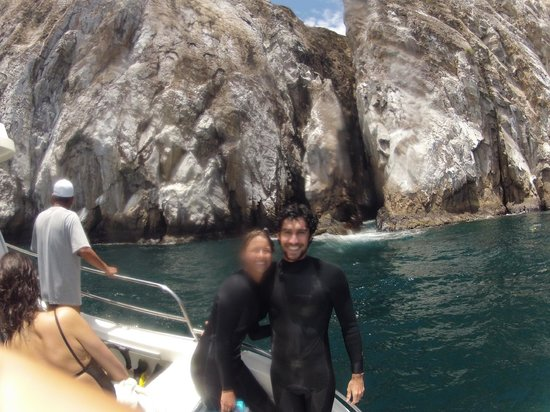 Sharksky Ecoadventures Galapagos: After the first snorkel