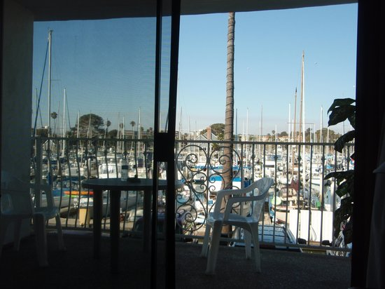 Oceanside Marina Suites : Balcony from Inside