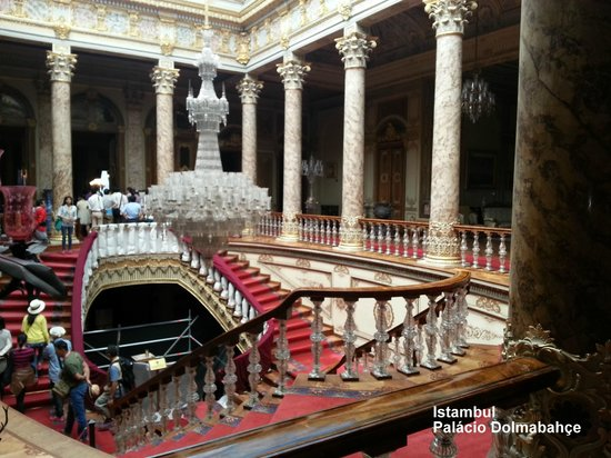 Dolmabahce Palace - Crystal Staircase