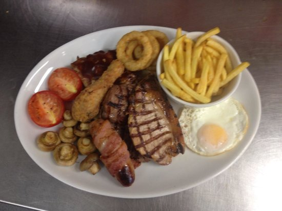 Crabby Jack's: Mixed grill