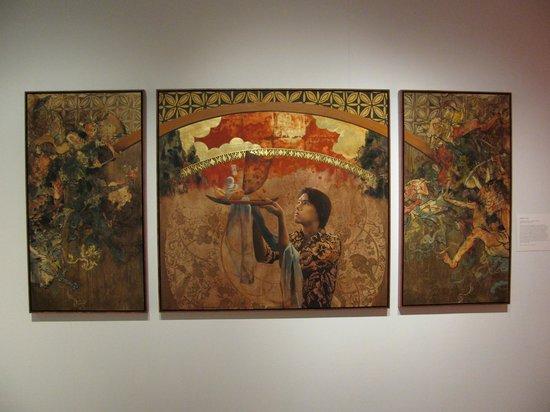 Hawaii State Art Museum: Clark's triptych