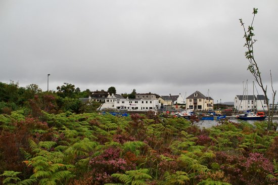 Saucy Marys Lodge: View of area around Saucy Mary's on Skye