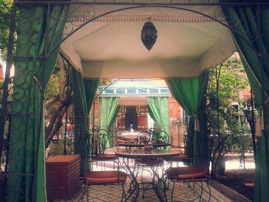 Riad Catalina : patio central