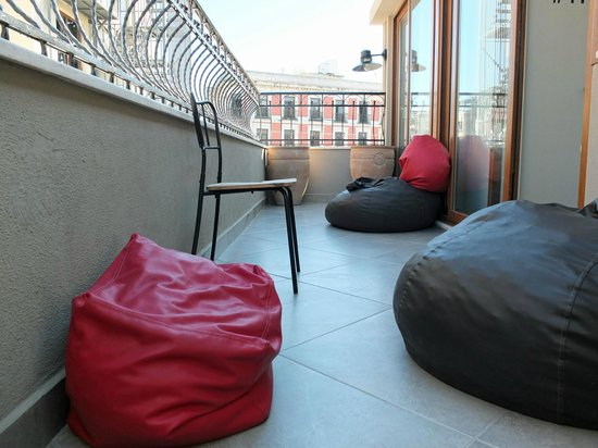 Stay Inn Taksim Hostel: Roof terrace