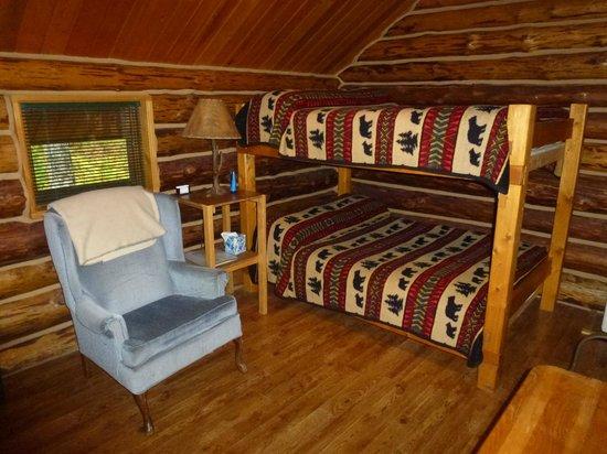 Meandering Moose Lodging: Cozy Moose interieur
