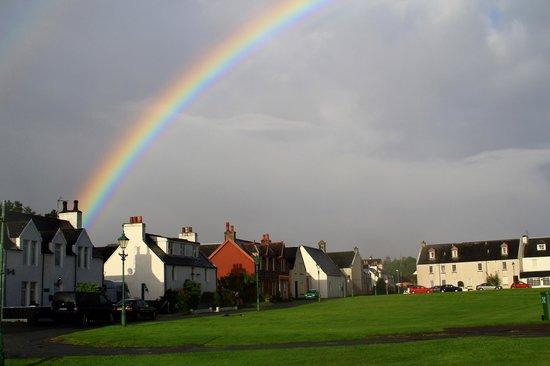 Saucy Marys Lodge: Rainbow near Saucy Mary's