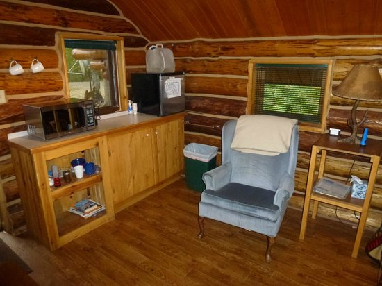 Meandering Moose Lodging: Cozy Moose interieur