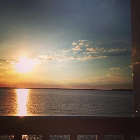 Atlantic Oceanfront Inn: view from the balcony