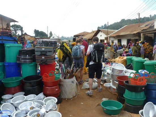 Usambara Adventures -  Day Tours : market
