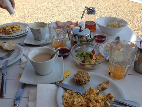 9 Muses Patmos: Mikes amazing breakfast