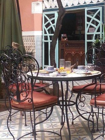 Riad Catalina : Petit déjeuner
