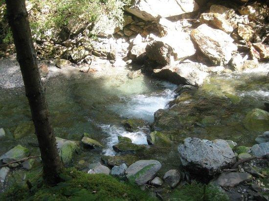 Les Gorges de la Diosaz : up view