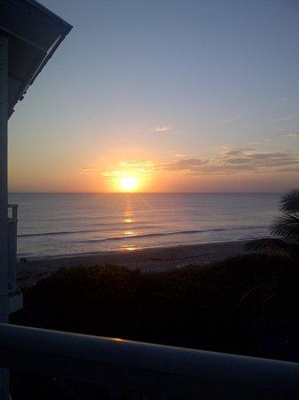 Hutchinson Island Marriott Beach Resort & Marina : Sunrise