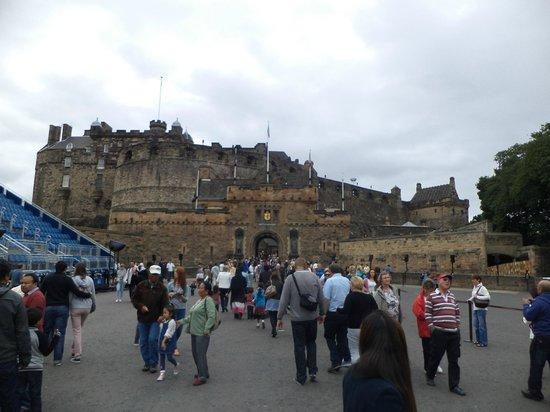 ปราสาทเอดินเบิร์ก: Lo mas visitado de escocia