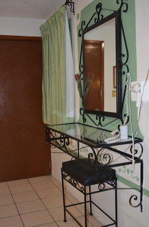 Mansion del Cantador : Tocador en la habitación