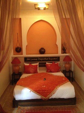 Riad La Porte Rouge: chambre chadia