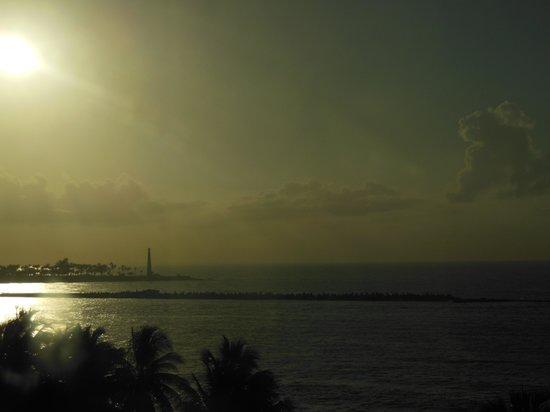 Hotel Napolitano: SEA VIEW EARLY MORNING!