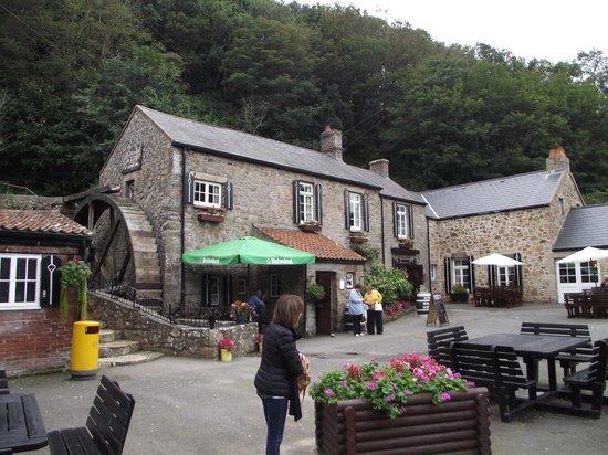 Le Moulin De Lecq Restraunt