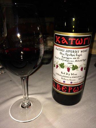 Eva's Garden Restaurant : Great wine!