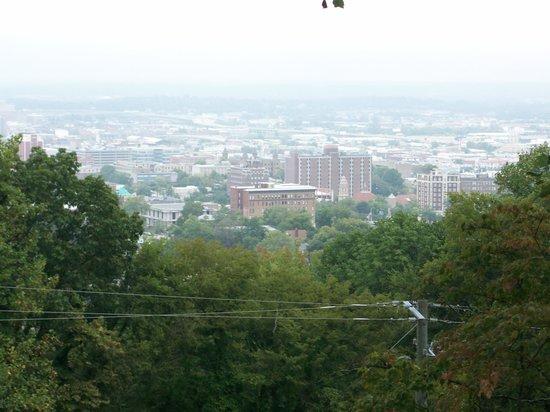 Vulcan Park and Museum: Birmingham City View