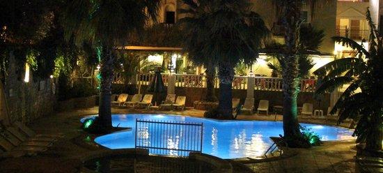 Hotel La Rosa: View of the restaurant