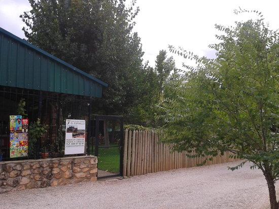 Restaurante Los Alamos: Entrada