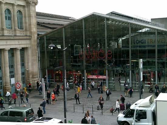 New Hotel Gare du Nord: View from our room - 206