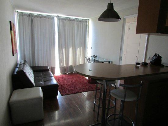 Costa Suecia Departamentos Amoblados: Living/estar