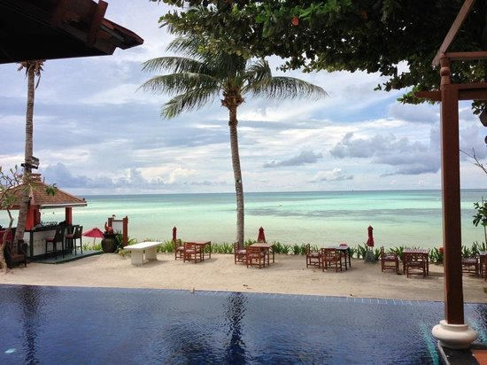The Briza Beach Resort: View from villa 304 truly Paradise