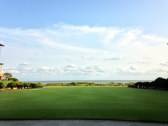 The Sanctuary Hotel at Kiawah Island Golf Resort : view from courtyard