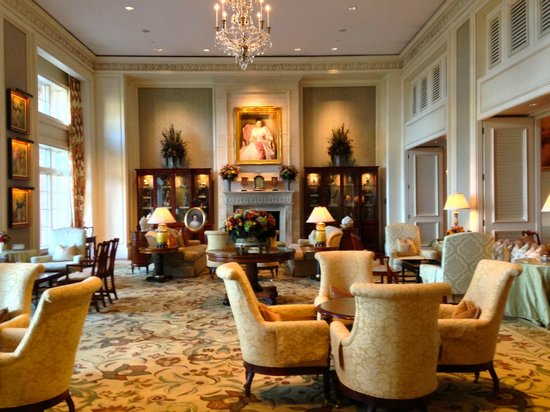 The Sanctuary Hotel at Kiawah Island Golf Resort : lobby area