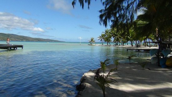 Vahine Private Island Resort: The Island