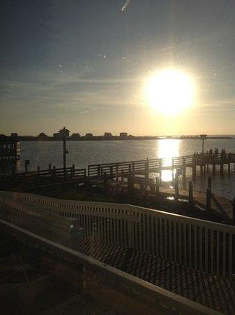 Sugar Creek Seafood Restaurant : sunset!