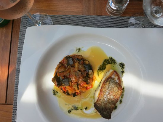 Les Voiles Saint Raphael : The best codfish ever!