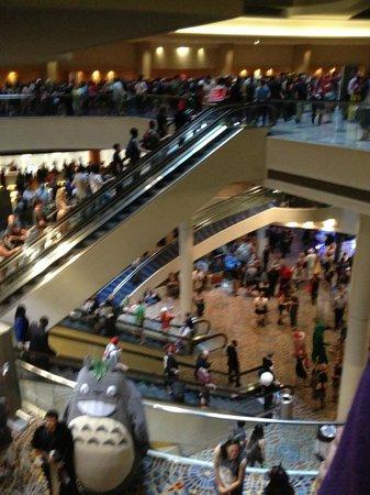 Dragon Con: crowding
