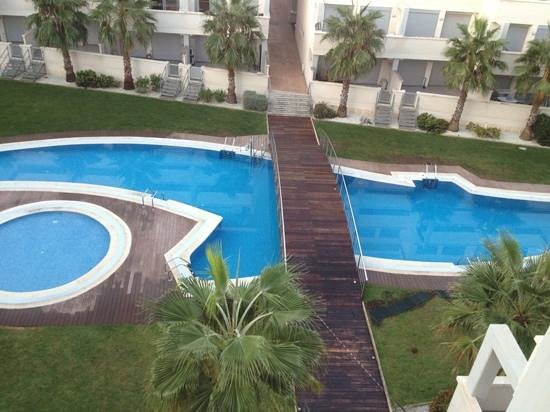 Elegance Apartments: view from terrace