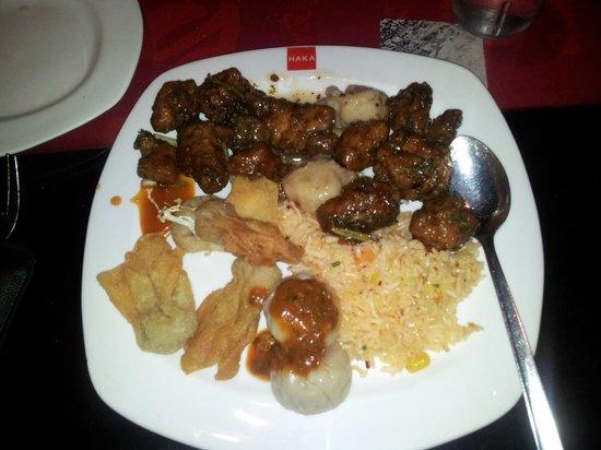 Haka : Non vegetarians plate
