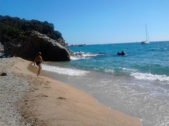 Camping Canyelles: spiaggia