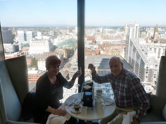 Afternnon Tea Picture Of Hilton Manchester Deansgate