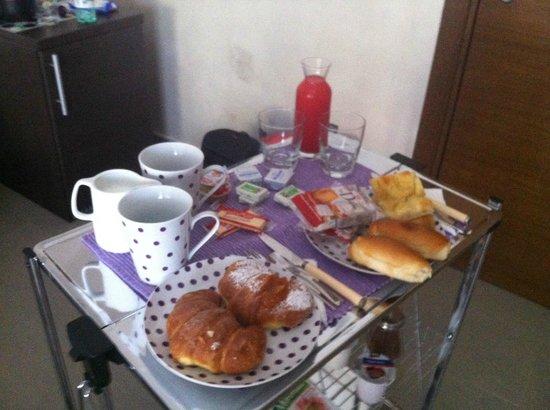 Domus Fontis: Café da manhã