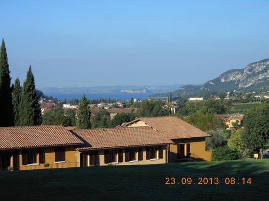Poiano Resort Hotel: traumhafte Lage